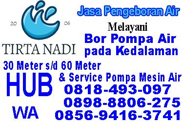 Jasa Bor Sumur di Bogor Selatan
